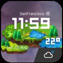 WeatherCraft Pixel Art Style