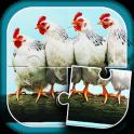 농장 동물 지그 소 퍼즐