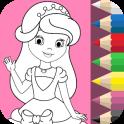 Princess Coloring Book ❤