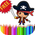 Coloring Book Pirates