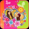 Love Dual Photo Frame