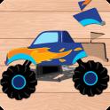 Vehicles Puzzle for Kids: Preschool