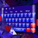 Red Blue Keyboard
