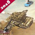 Flying World Tank simulator