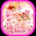 Lush Blossom Keyboard Theme