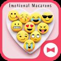 Funny Wallpaper Emotional Macarons Theme