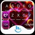 Red Heart Love Keyboard Theme