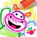 Bini DRAW & DANCE! Kids Coloring Apps for Toddler!
