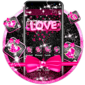 Pink Love Bow Theme