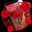 Red Rose Flower Theme