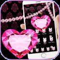 Pink Love Glitter Diamond Theme