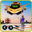 Future Flying Car Robot Taxi Cab Transporter Games