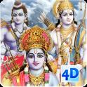 4D Shri Rama (श्री राम दरबार) Live Wallpaper