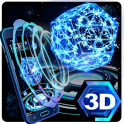Neon Pentagon 3D Theme