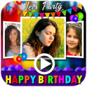 Birthday Video Maker with Song and Name 2020