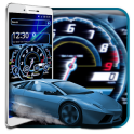 Car Speedometer Neon Theme