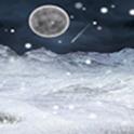 눈내리는 겨울밤 라이브배경