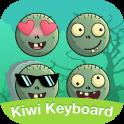 Kiwi keyboard Zombie emoji