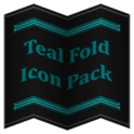 Teal Fold Icon Pack ✨Free✨
