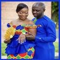 Ideas de moda de pareja africana