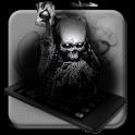 Ace Black Cool Skull