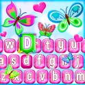 Cute Butterfly Emoji Keyboard