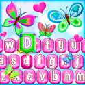 Emoji Teclado de Mariposas