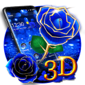 3D Love Rose Theme