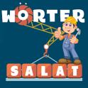 Wörter Salat