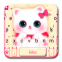 Kawaii Kitty Cute Cat Keyboard Theme