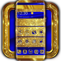 Cobalt and Gold Launcher Theme