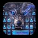Cruel Night Wolf Keyboard Theme