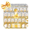 Golden Bow Tema de teclado