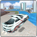 Extreme Car Racing:Flying game