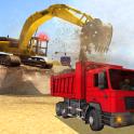 Heavy Excavator Dump Truck 3D