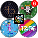"""""""Playful"""" watch face pack 3 for Bubble Clouds"""