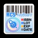 RCS Barcode/OCR Keyboard