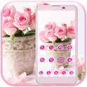 Pink Rose Theme love