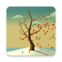 Tree With Falling Leaves Live Wallpaper - FREE