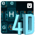 Hologram 4d Keyboard Theme