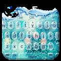 Glass Water Drop Keyboard