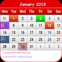 Tanzania Calendar 2019