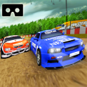 VR Car race dirt drift - VR Racer- VR Games