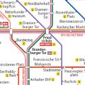 Berlin Subway Map (U Bahn etc)