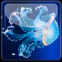 Sea Jellyfish Underwater LWP