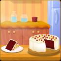 Red Velvet Cake Cooking