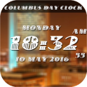 Columbus Day digital clock lwp