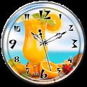 Juice Clock Live Wallpaper