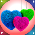Fluffy Hearts Live Wallpapers
