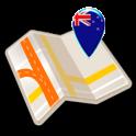 Map of New Zealand offline